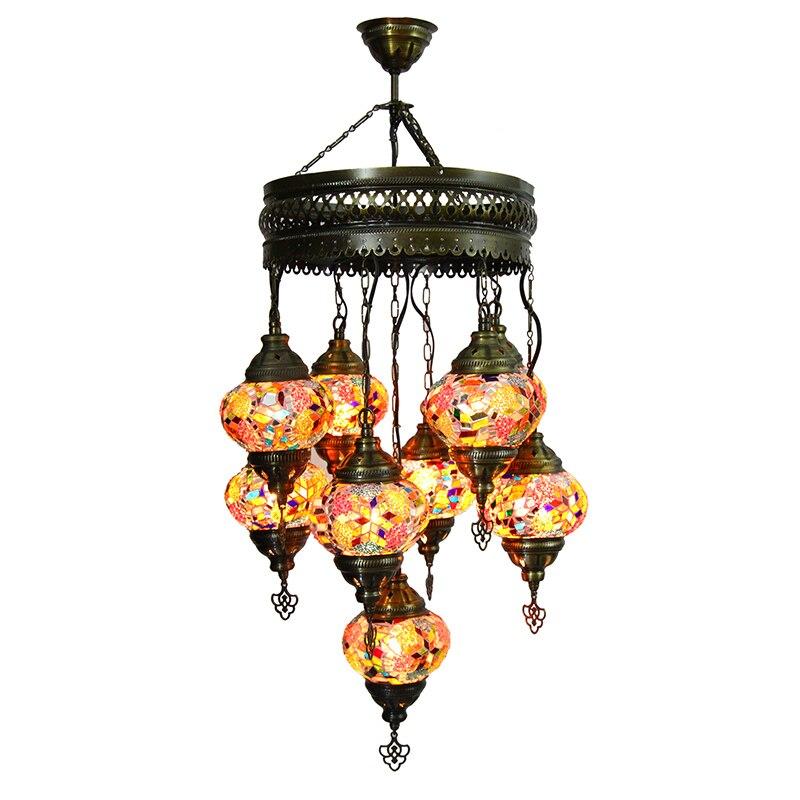 مصباح تركي ، شحن مجاني Ekspress ، 7 كبير غلوب مصباح من الفسيفساء ، الحنين المنزل الديكور-مصباح من الفسيفساء ، مصباح التركية ، التركس