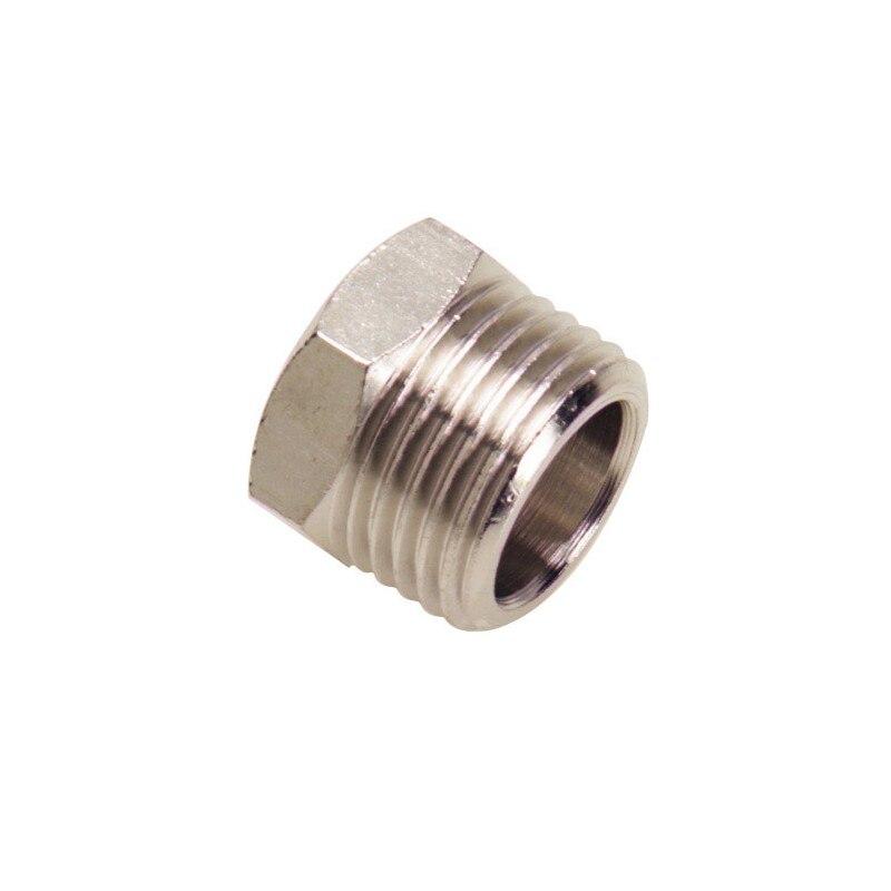 Reducer Nut Cylindrical Male 3/8/_/Female 1/4 (Blister 2 Pcs)