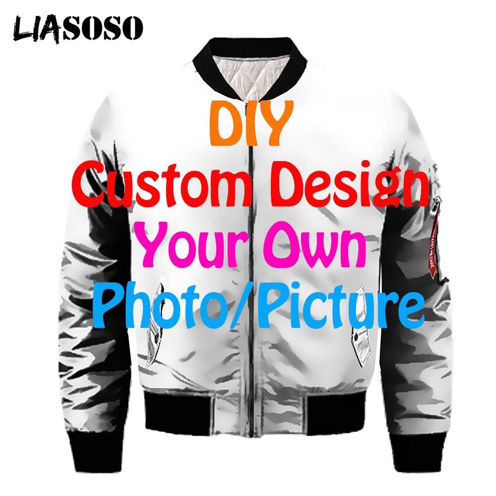 Мужская зимняя куртка-бомбер liaseo с 3D-эффектом, в стиле милитари