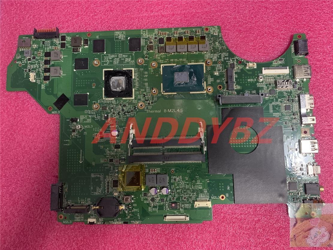 MS-16J51 الإصدار 1.0 ل MSI اللوحة المحمول MS-16J5 GE62 GE72 PE60 PE70 مع I7-6700HQ و GTX960M 100% العمل موافق