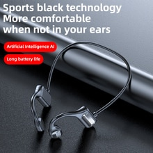 NEW TWS Bluetooth Earphones Stereo Wireless 5.2 Bluetooth Headphones neck earpiece Noise Cancelling