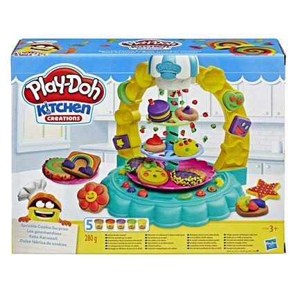Playdoh dulce fábrica de cookies