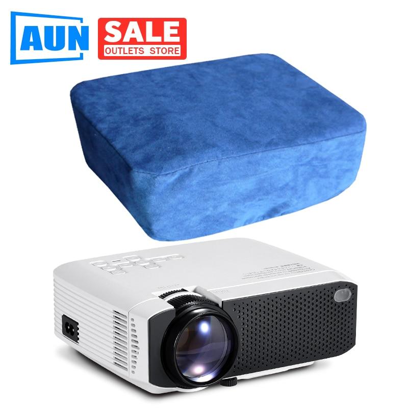 AUN Original Projektor Staub Abdeckung Für D40 D50 D60 W18 Serie Projektor Perfekt zu Thundeal TD90 TD60