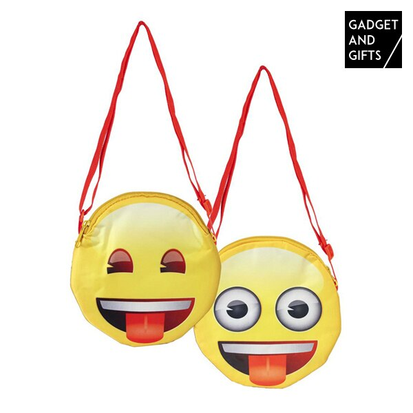Gadget y regalos bolsa de emoticono descarado