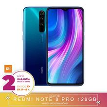 -Téléphone portable original-Xiaomi Redmi Note 8 Pro 6 go 128 go Smartphone 64MP Quad cámaras MTK Helio G90T Octa Core 4500 mAh