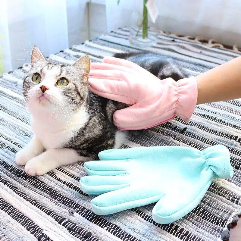 -Guante cepillo para mascotas para счесывания lana