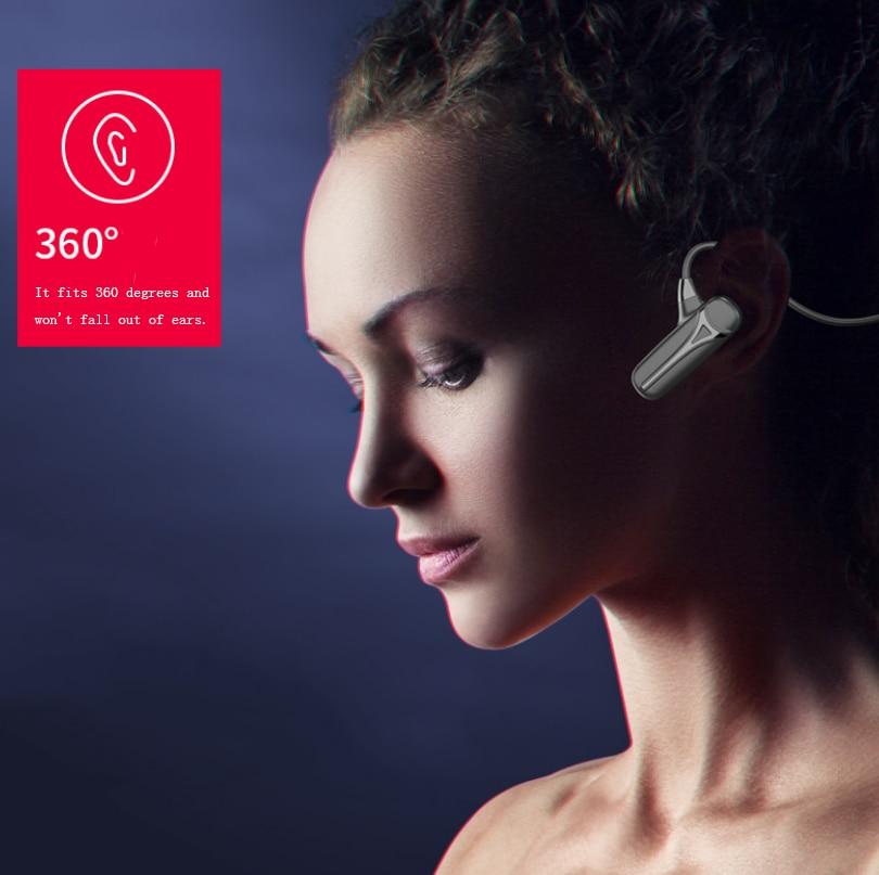 2021 New Bone Conduction Headset Bluetooth 5.0 Wireless Sports Headphone IPX5 Waterproof Stereo Black Technology Gaming Earphone enlarge