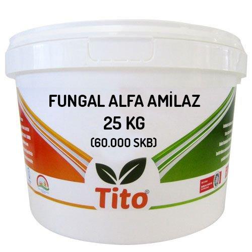 Tito hongos de alfa-amilasa (60.000 SKB) - 25 kg
