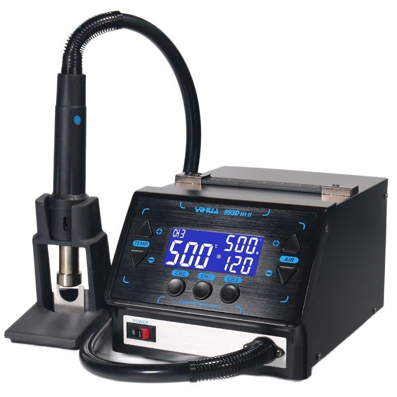 993DM-II 1000W Fast Desoldering Hot Air Gun Soldering Station Intelligent BGA Rework Station for PCB Chip Repair