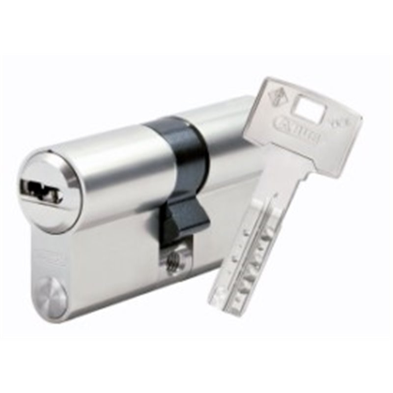 Cilindro de segurança ABUS 30X50MM LAT NIQ vela DOB.EMBR. VE2L410MX/4