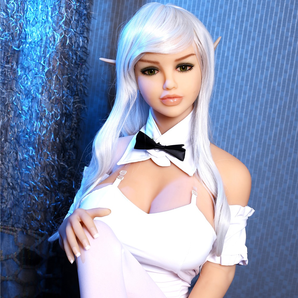 160cm c cup silicone elf tpe sex dolls realistic sexy anime lifelike sex toys adult doll artificial vagina ass male masturbate d 153cm Elf sex dolls cute Real TPE waist Adult Sexy Toys Huge Breast Love Doll Realistic  Ass Vagina Pussy For male masturbation