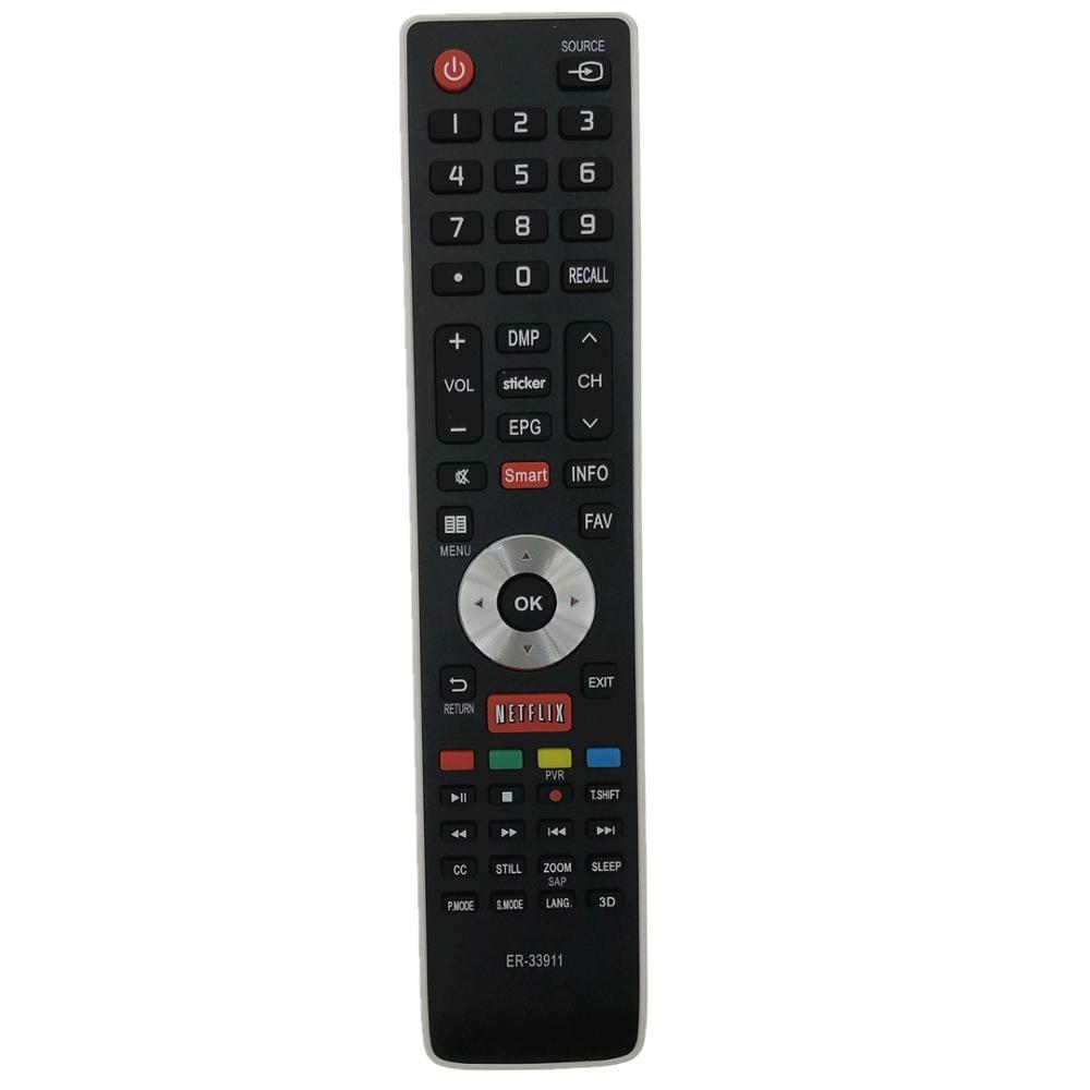 New Original Remote Control ER-33911 ER-33911B ER-33911HS For VARIAS MARCAS JVC BGH HISENSE SANYO NOBLEX PHILCO Smart Tv