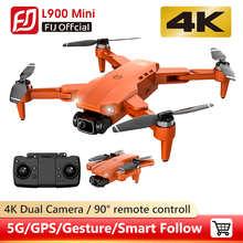 Дрон L900 Pro 5G GPS 4K с HD-камерой FPV, время полета 28 минут, фоторасстояние 1,2 км, профессиональные дроны