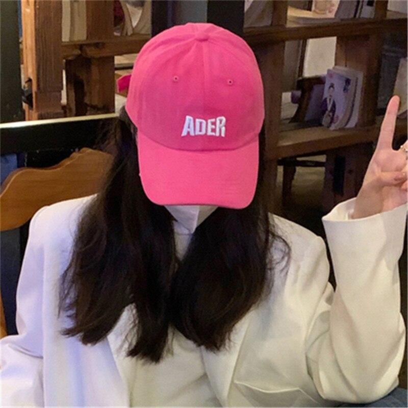 Бейсболка Kpop, женская кепка, мужская Кепка, Кепка с вышивкой букв s, уличная бейсболка, мужские кепки в Корейском стиле для мужчин 2021