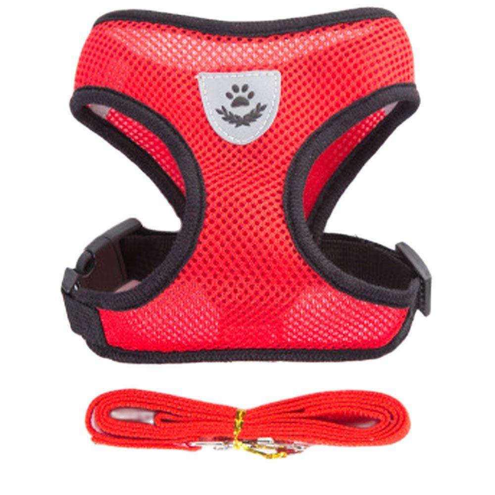 Воздухопроницаемый поводок для собак, маленькая модель, жилет для щенков и кошек, ошейник для чихуахуа, мопса, бульдога, кота, Арне, собаки