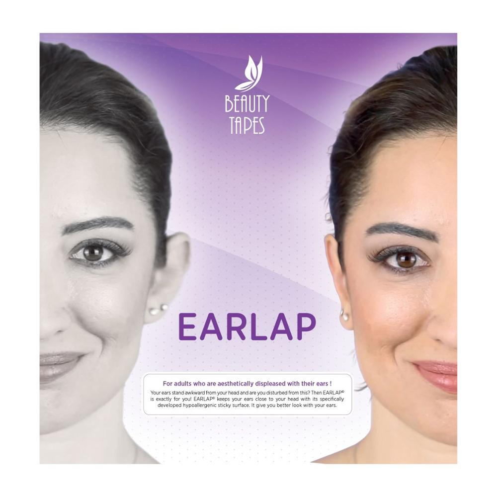Beauty Tapes EARLAP Ear concealer Corrector instant effect sticking system for protruding ears durab