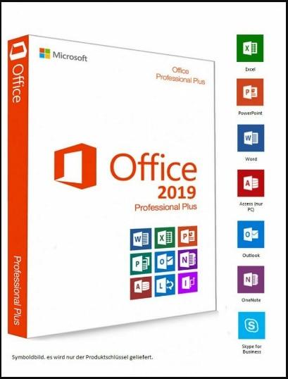 MICRO-SOFT office 2019 professional plus   para windows-1 usuário   expedição rápida