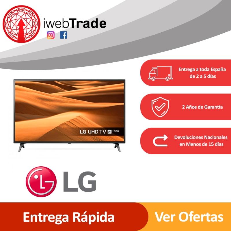 "Televisor Smart TV LG 43"" 4K Ultra HD LED WiFi Negro iwebtrade 43UM7000"