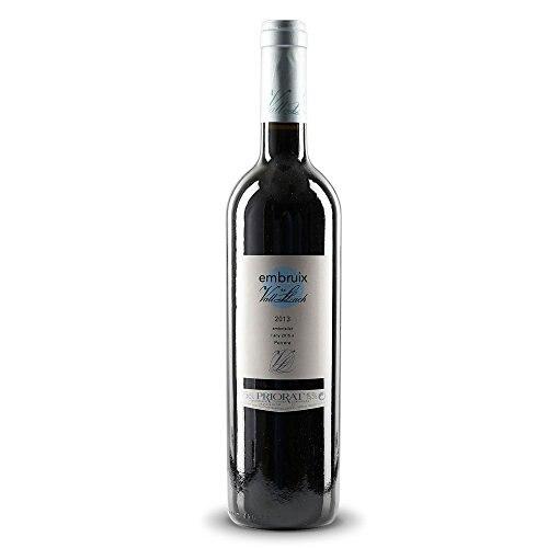 Vinho tinto embruix vall llach, d.o. priorat. Transporte de espanha, vinho tinto