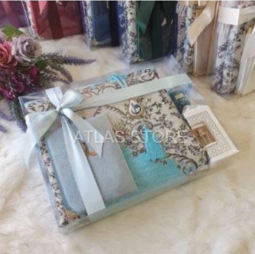 Regalo Nawlid conjuntos de regalo Hajj Umrah de Asude muslimislamic regalo سجاد صلاة مسلم هدية إسلامية sijad salat musulmán hadiat iislamia