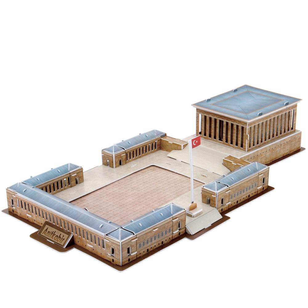 Mausoleum-أحجية ثلاثية الأبعاد من مصطفى Kemal atturk ، 59 قطعة ، Anitkabir ، أنقرة