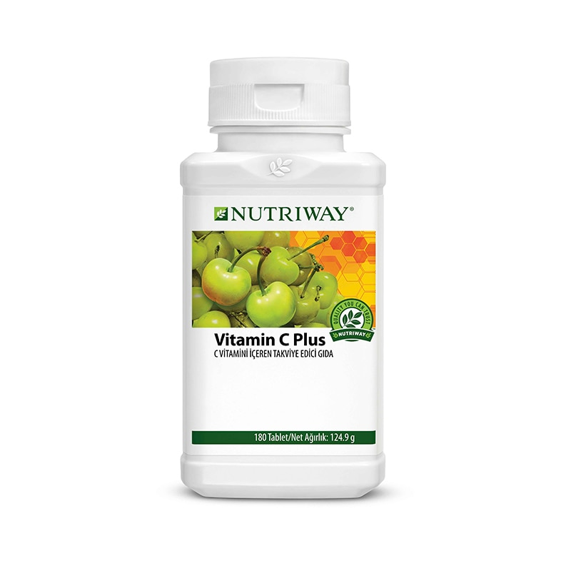 NUTRIWAY™ Vitamin C Plus Extended Release Family Size 180 Capsules