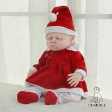 Bebe reborn 41cm 2.4kg 100% Silicone Soft Reborn Baby Dolls Waterproof Doll Baby Toys Kid Gifts Newb
