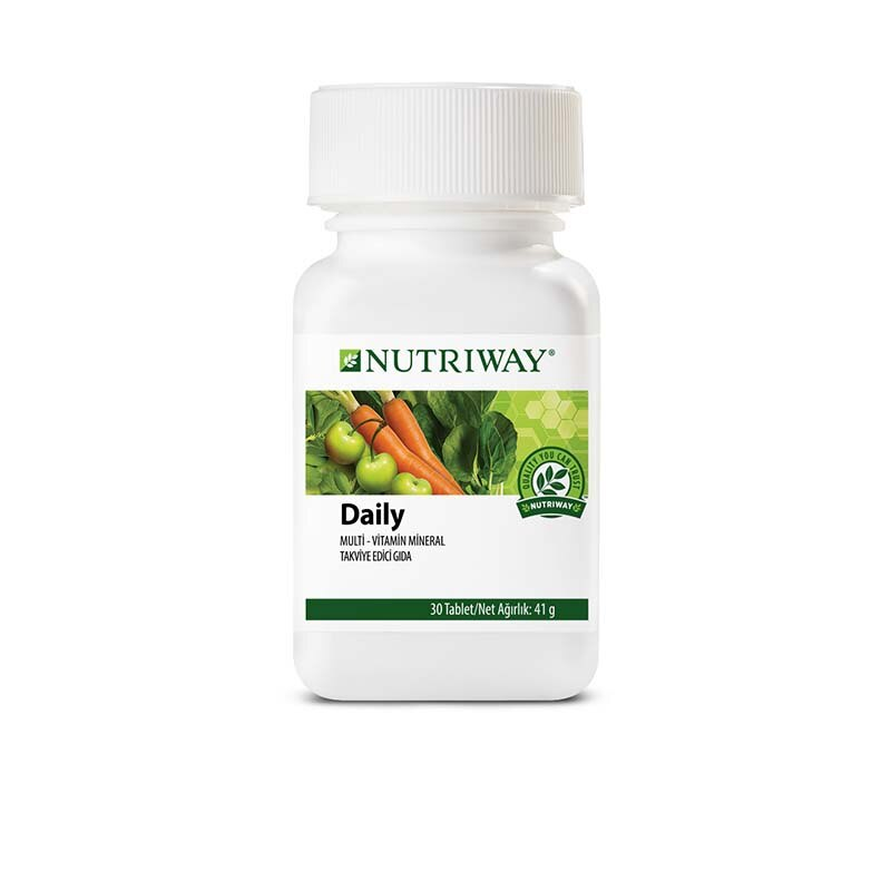 Daily Vitamins and Minerals - 30 tabs NUTRIWAY™ 30 Capsules
