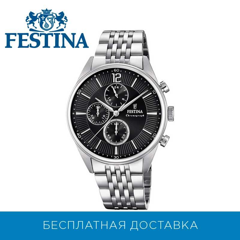 Polshorloge Festina F20285/4 Met Chronograaf