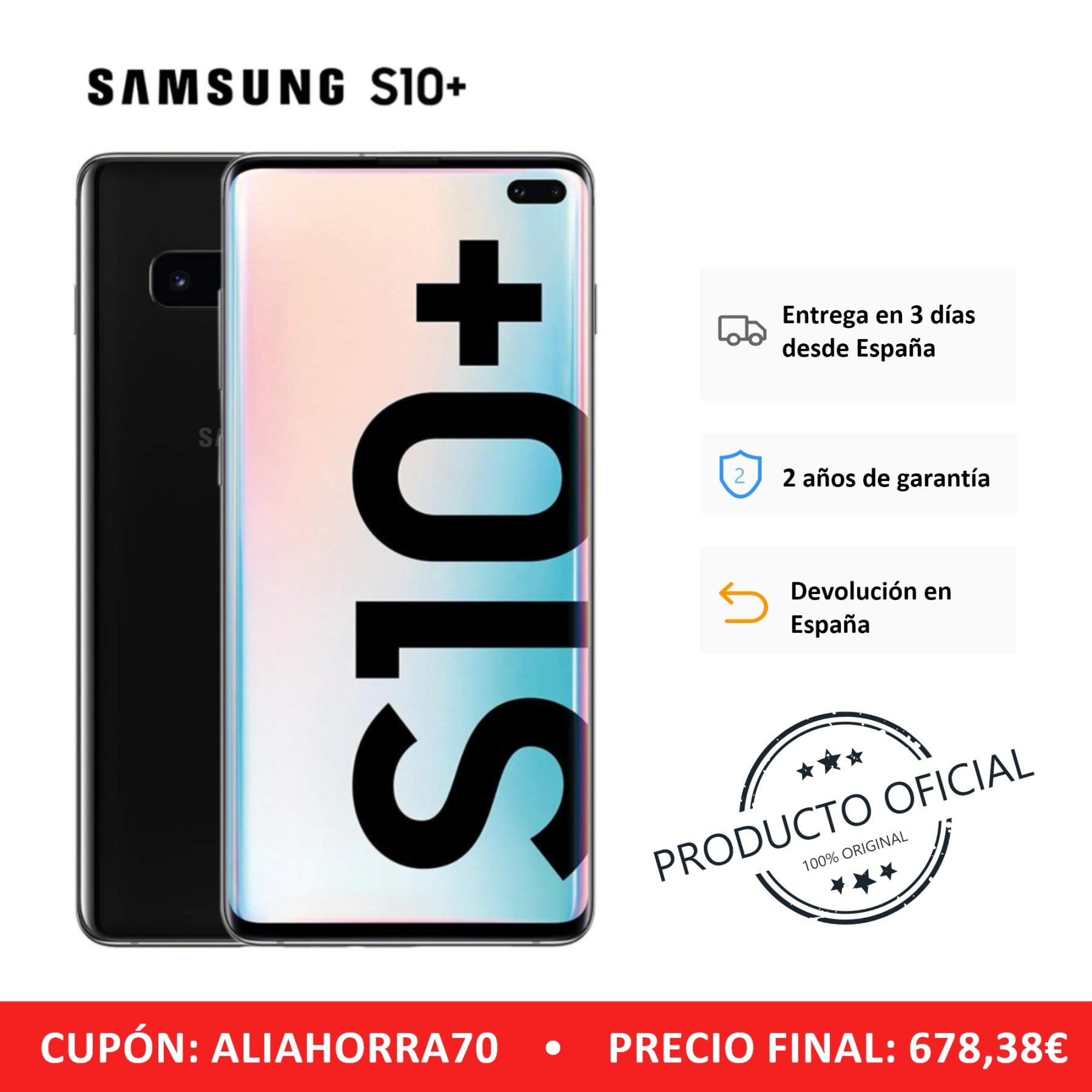 Samsung galaxy s10 +, banda lte/wifi, sim duplo, cor preta (preto), 12 8 gb memoria interna, 8 gb ram, tela d
