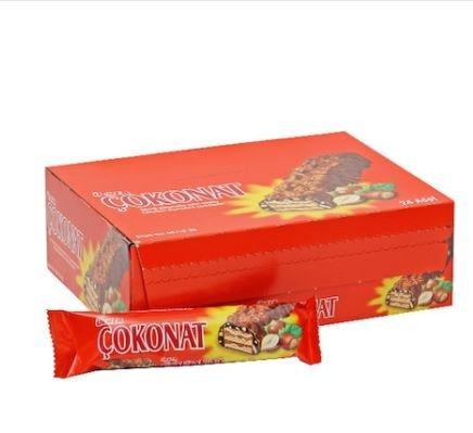 Ülker Çokonat Chocolate Wafer 24 x 37 G  FREE SHİPPİNG