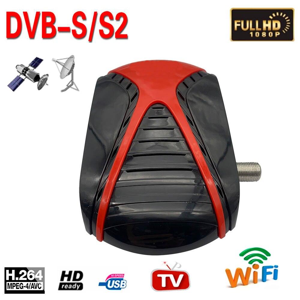 SR 4090 HD DVB-S2 صندوق التلفزيون موالف DVB S2 استقبال الأقمار الصناعية استقبال الأقمار الصناعية مرآة يلقي Cs ip فك Biss USB واي فاي يوتيوب