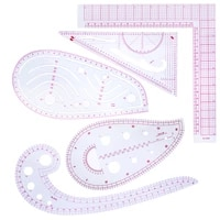 nonvor tailor measuring ruler kit diy tailor patterns sewing drawing quilting tools clothing patchwork cutting curve craft
