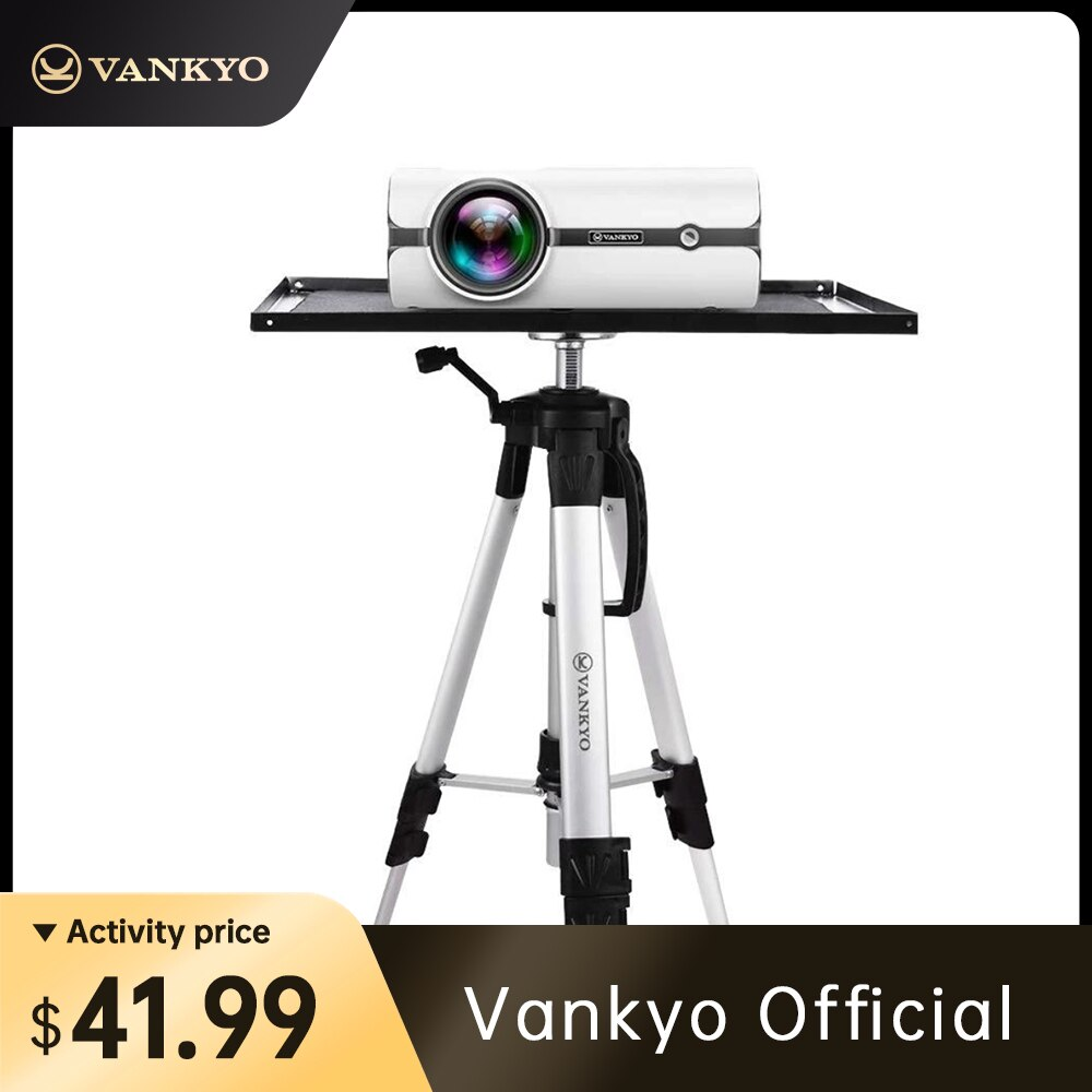 Vankyo Aluminium Legierung Stativ Projektor Stehen 17 zu 45,6 zoll Höhe Verstellbare Universal Projektor Stativ Mit Tasche