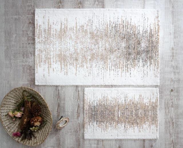 HC & W Cotton-وسادة مقعد المرحاض ، مجموعة 2'li ، Artemis أبيض خام 364118716