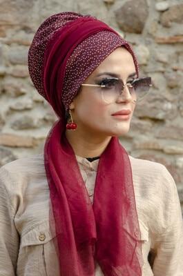 AliExpress - Muslim Turban Hijab Bonnet  Scarf with foulard for women Islamic inner hijab caps Arab wrap head scarves femme musulman Turkey