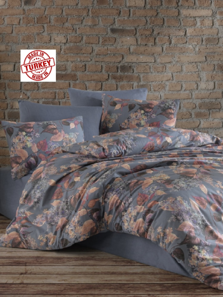 4 PIECES BEDDING SET - COTTON 200X220 CM - ULTRA SOFT - COMFORTABLE - FROM TURKEY
