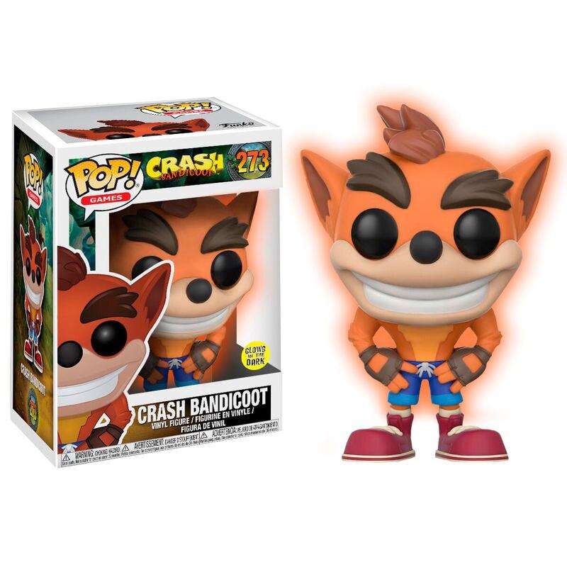 Pop figura crash bandicoot exclusivo