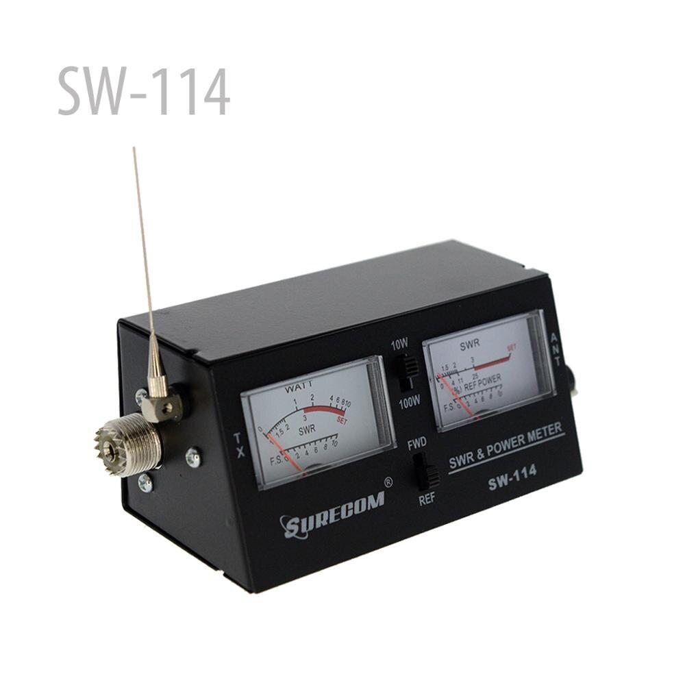 SURECOm SW-114 SWR/RF/medidor de resistencia de campo (126372)