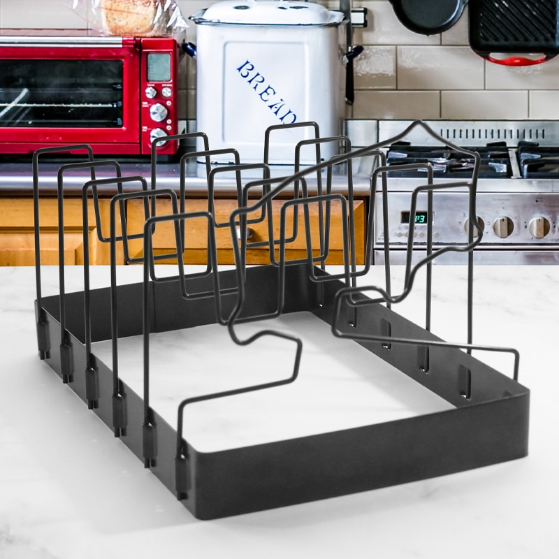 Non-stick Coating Rib Rack Folding Flat Rack Holder Grilling Barbecue Tool Hold 5 Ribs Kitchen Tools Cooking Accessories Bar  - buy with discount