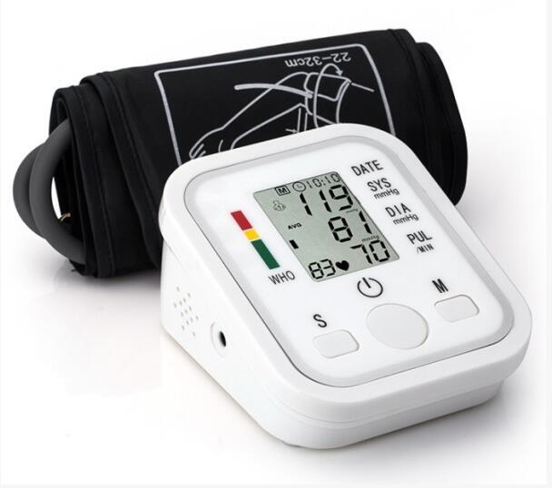 Brazo presión arterial/pulsómetro monitor Hogar y hospital equipo médico digital