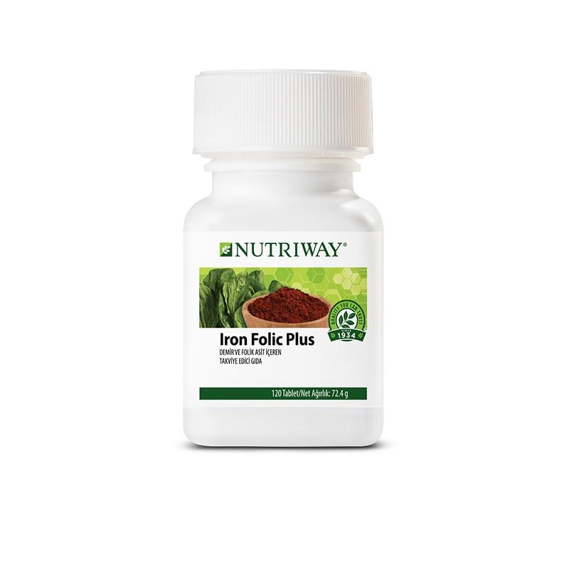 Iron Folic Plus NUTRIWAY™ 120 Capsules