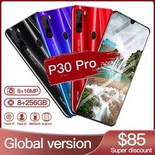 Smart phone Hawei P30 Pro 8GB 256GB 5G Smartphone 6.3 inch MTK 6595 10 core 4g network Mobile Phones