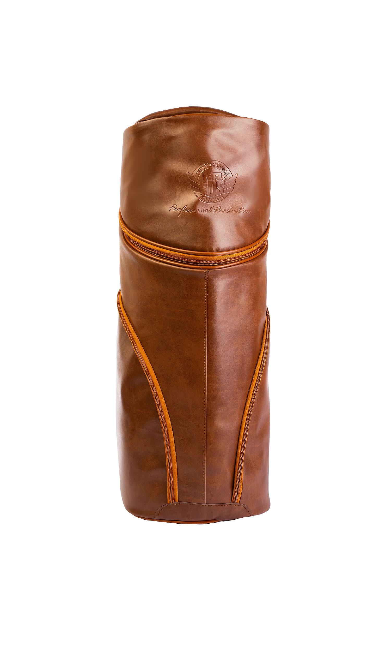Babba Wood Epoxy Leather Hookah Bag Size L. Shisha Starbuzz Smoke enlarge