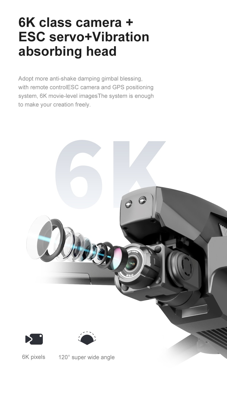 U9d67f37285c4456cb57046c22b0d1782u - 2021 M1 Pro 2 drone 4k HD mechanical 2-Axis gimbal camera 5G wifi gps system supports TF card drones distance 1.6km