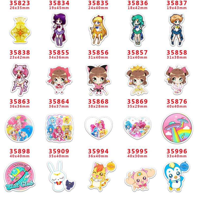 Resina de dibujos animados para accesorio de joyería para manualidades 30 Uds planar resina pr 35823 envío gratis