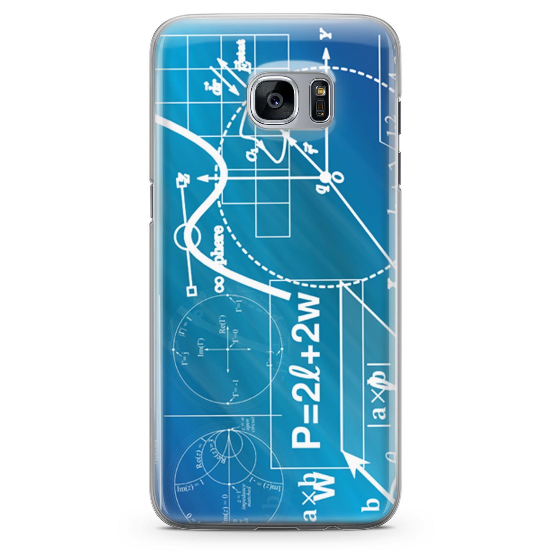 Funda Lopard para Samsung Galaxy S7 Edge, funda protectora de silicona, funda trasera con motivos geométricos