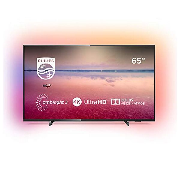 "Smart TV Philips 65PUS6704 65"" 4K Ultra HD LED WiFi Negro"