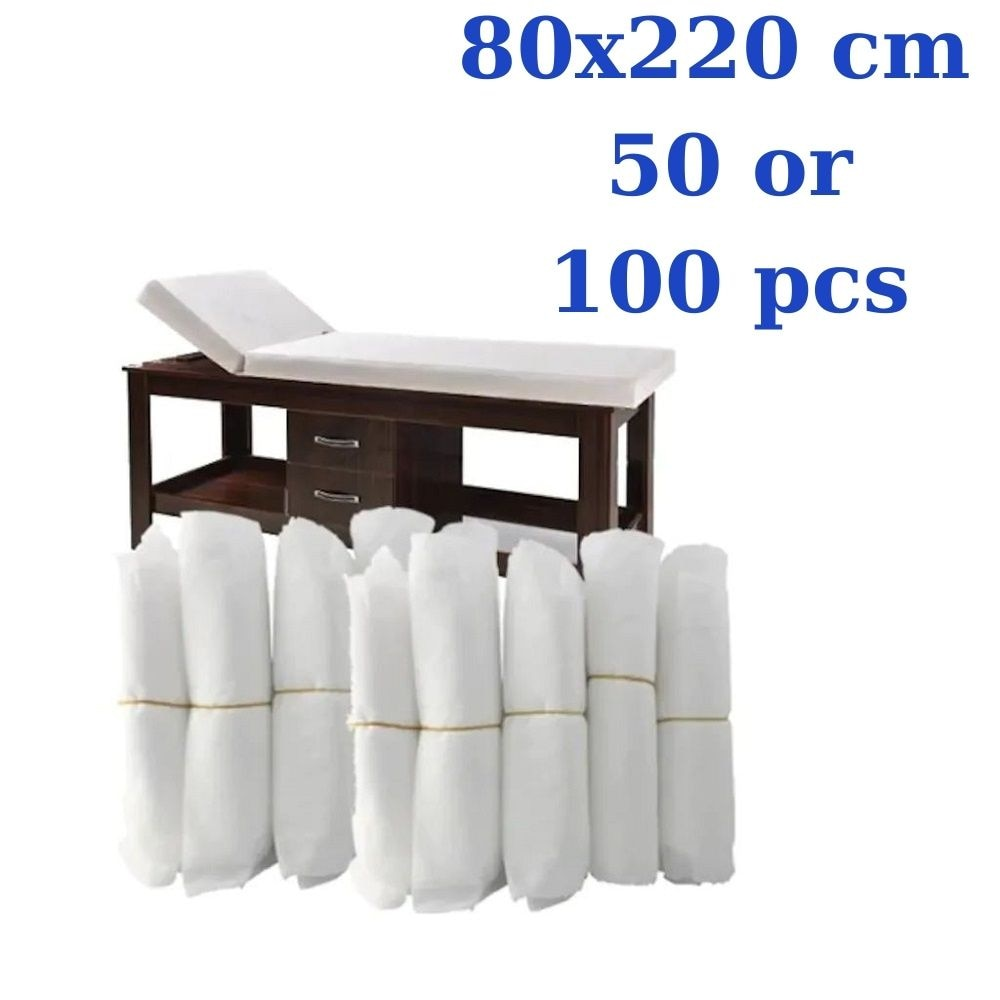 Disposable Bed Table Elastic Sheets Underpad Cover Fitted Massage Table Beauty Care Accessories Non-