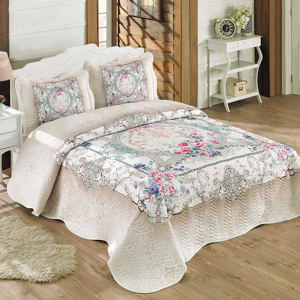 % 100 Cotton Double Quilted Colored and Patterned Bedspread on Bedspreads for Bed Plaid bed cover Quilt Dowry